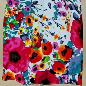 DownEast Skirts - DOWNEAST Gorgeous Floral Skirt Women's Size 8